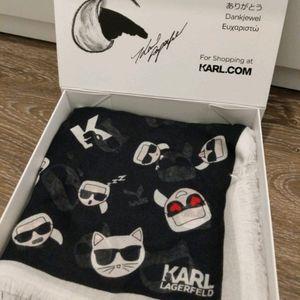 Karl Lagerfeld - IKONIK MODAL CASHMERE SCARF